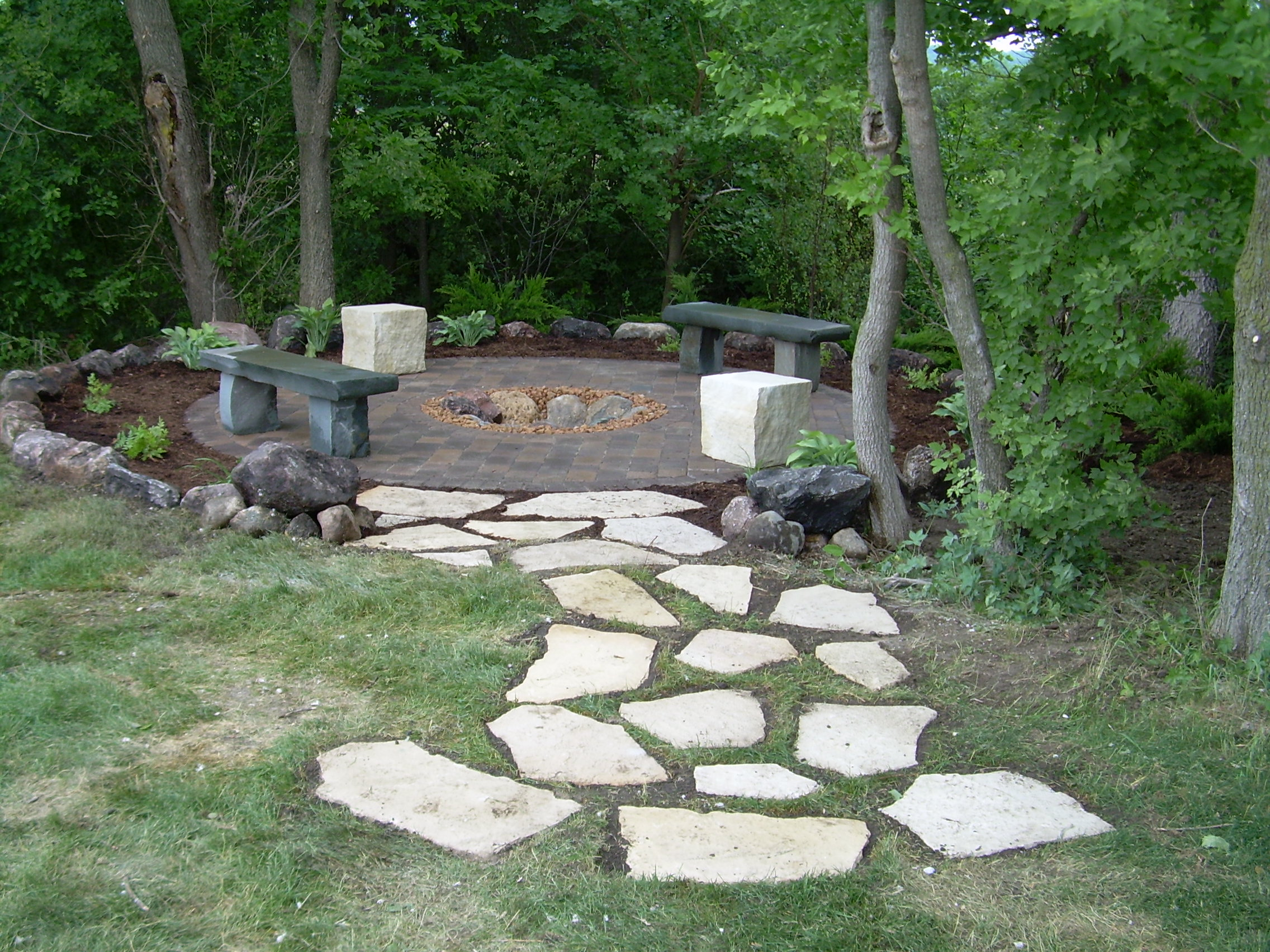 Pits of FIRE | TimberPine UnPlugged on Pavers Patio With Fire Pit id=62525
